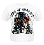 Sons Of Anarchy T-shirt Flame Skull