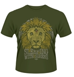 T-shirt Sleeping With Sirens - Lion Crest