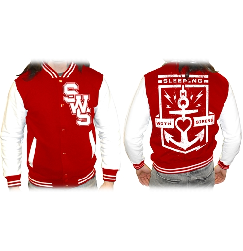 Veste Varsity Sleeping With Sirens - Floater