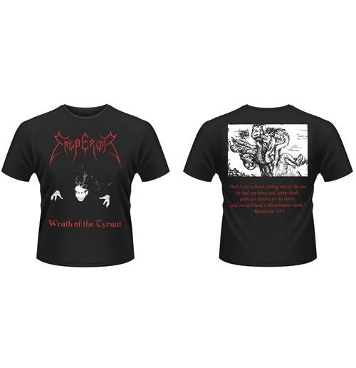 T-shirt Emperor WRATH OF THE TYRANTS