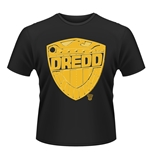 T-shirt 2000AD Judge Dredd BADGE