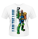 T-shirt 2000AD Judge Dredd I AM THE LAW 2
