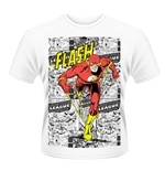 T-shirt Dc Originals - Flash Comic Strip