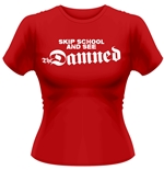 T-shirt The Damned - Skip School