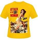 T-shirt Plan 9 - Attack Of The 50FT Woman Poster