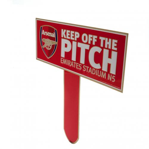 Pancarte Arsenal FC Keep Off The Pitch