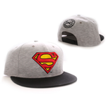 Superman casquette baseball Vintage Logo grey