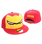 Iron Man casquette baseball Yeux rouge