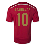 Maillot Espagne Football 2014-2015 Home