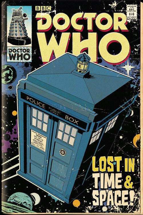 Poster Doctor Who  122510