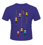 T-shirt Star Trek - Guess The Trexel (Violet)