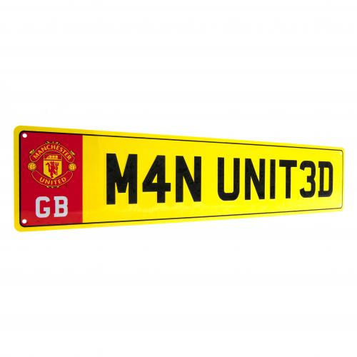 Plaquette Manchester United FC 123429