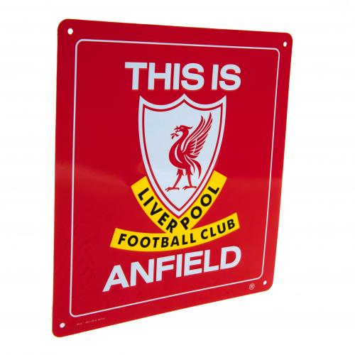 Plaque Liverpool FC - This Is Anfield