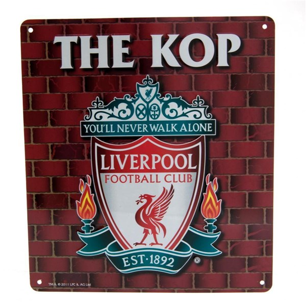Enseigne Liverpool FC The Kop