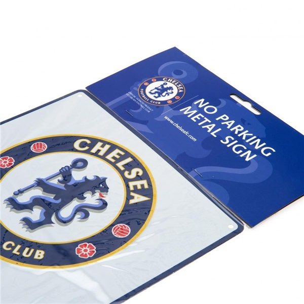 Plaque Chelsea FC - Chelsea Fan Parking Only
