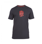 T-shirt en Coton Angleterre Graphic 2014-2015 (Noir Phantom)