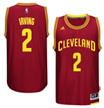 Maillot Cleveland Cavaliers Kyrie Irving adidas Garnet New Swingman Road