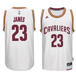 Maillot Cleveland Cavaliers LeBron James adidas White New Swingman Home