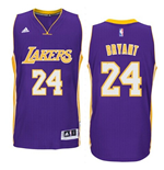 Maillot Los Angeles Lakers Kobe Bryant adidas Purple New Swingman Road