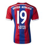 2014-15 Bayern Munich Home Shirt (Gotze 19) -Enfants