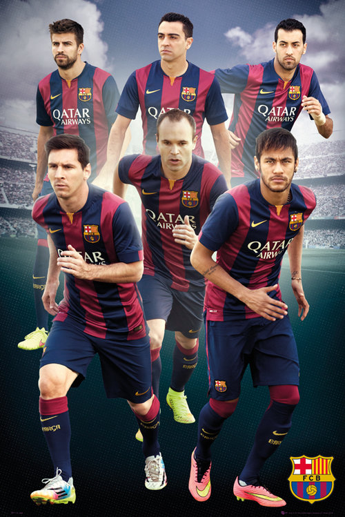 Poster FC Barcelone 124755