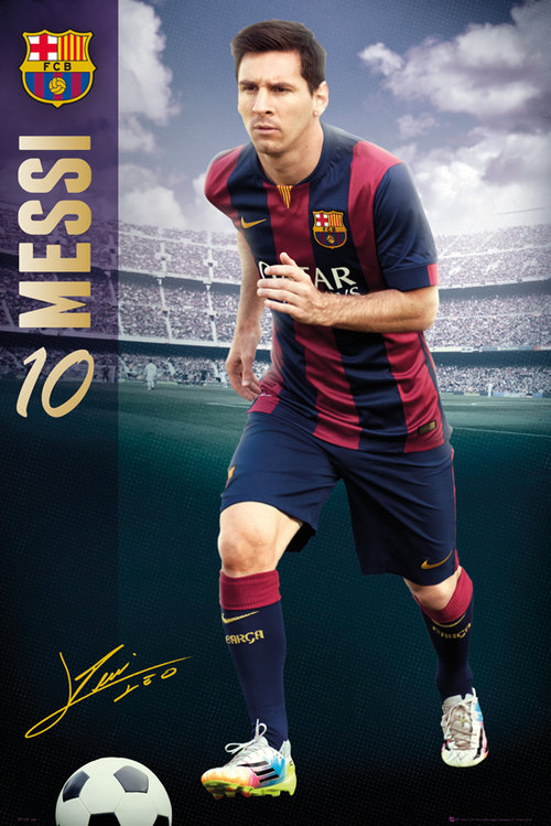 Poster FC Barcelone 124757