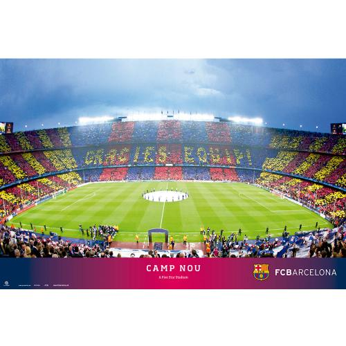 Poster FC Barcelone 124907