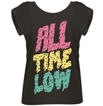 T-shirt All Time Low MELTED