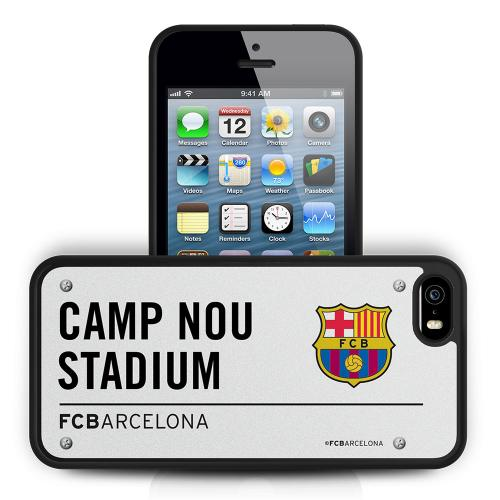 Coque Rigide 3D iPhone 5/5S FC Barcelone