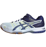 Chaussures de Volleyball GEL- ROCKET 2014 BLANC-VIOLET