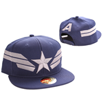 Captain America casquette baseball Star Wings