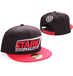 Iron Man casquette baseball Stark Red Logo