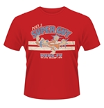 T-shirt Hong Kong Phooey N. 1 Super Guy Rouge