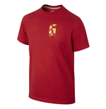 Maillot Espagne Football 2014-2015 (Rouge)