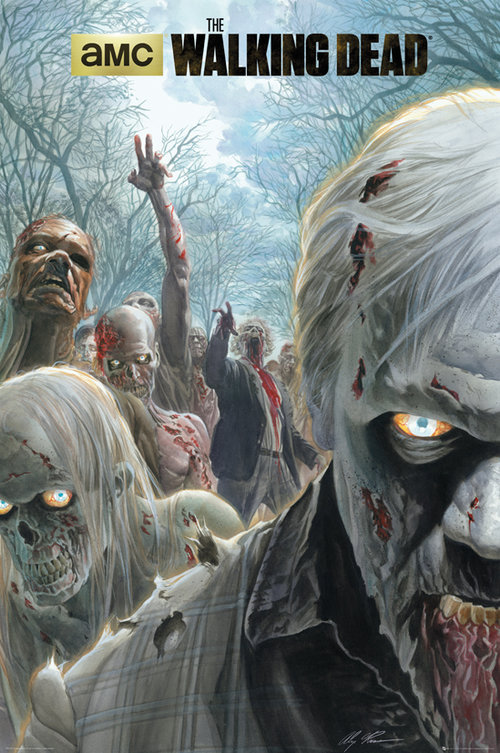 Poster The Walking Dead Zombie Hoard