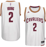 Maillot Cleveland Cavaliers Kyrie Irving adidas White New Swingman Home