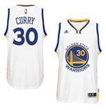 Maillot Golden State Warriors Stephen Curry adidas White New Swingman Home