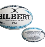 Ballon de Rugby Flower of Scotland