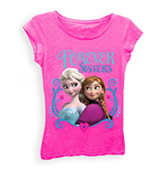 T-shirt Disney Frozen La Reine des Neiges