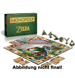 The Legend of Zelda jeu de plateau Monopoly *ALLEMAND*