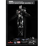Iron Man 3 figurine métal Super Alloy 1/12 War Machine Mark II Ver. 2 15 cm