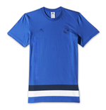 T-shirt Real Madrid Adidas Anthem 2014-2015 (Bleu)