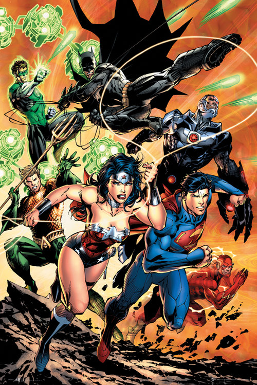 Poster Justice League 129535