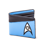 Star Trek porte-monnaie Bifold Science Logo Blue