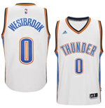 Maillot Oklahoma City Thunder Russell Westbrook adidas White New Swingman Home