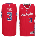 Maillot Los Angeles Clippers Chris Paul adidas Red New Swingman Road