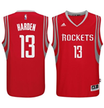 Maillot Houston Rockets James Harden adidas Red New Swingman Road