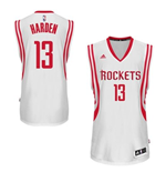 Maillot Houston Rockets James Harden adidas White New Swingman Home