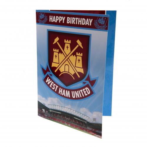 Carte de voeux West Ham United 130418