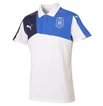 Polo Italie Football 2015-2016 (Blanc)